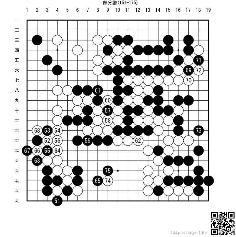 第5回扇興杯女流最強戦予選仲邑菫(初段) vs. 多冨佳絵(三段)棋譜7