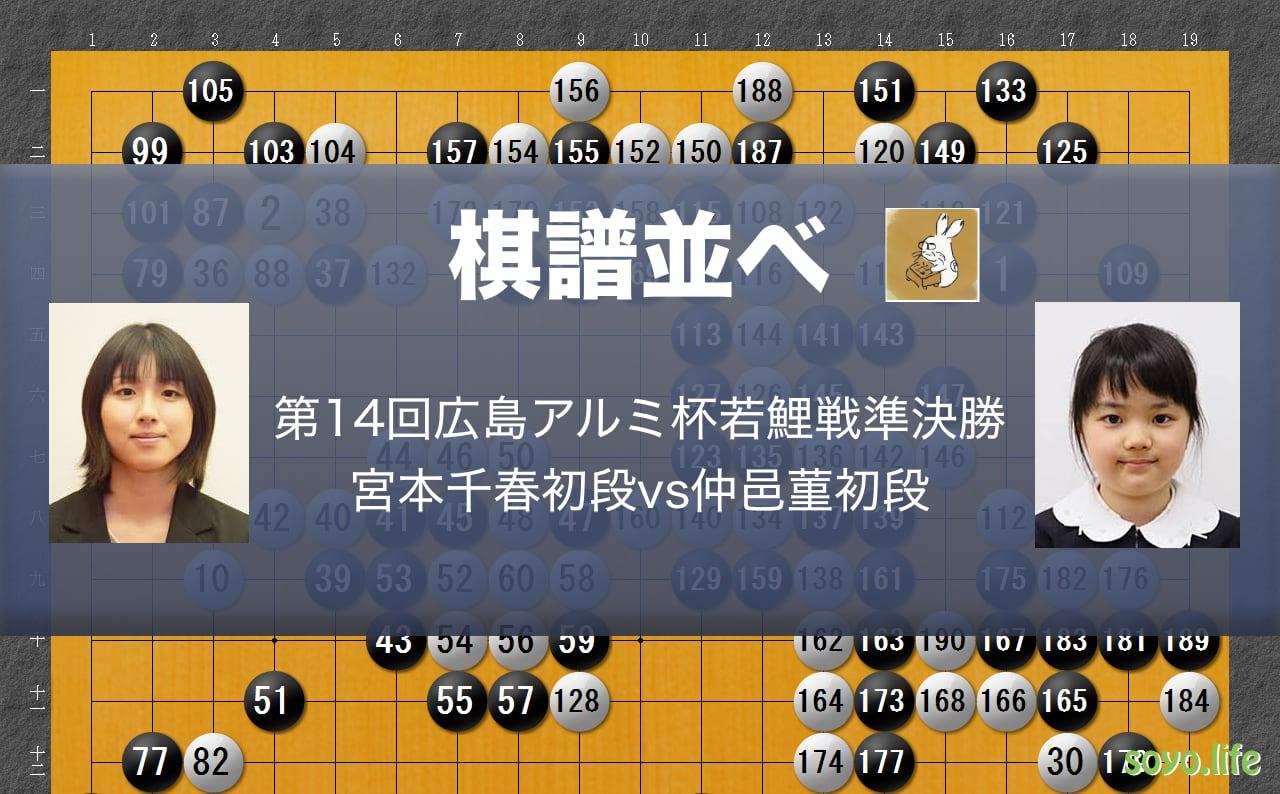 囲碁棋譜並べ20191114
