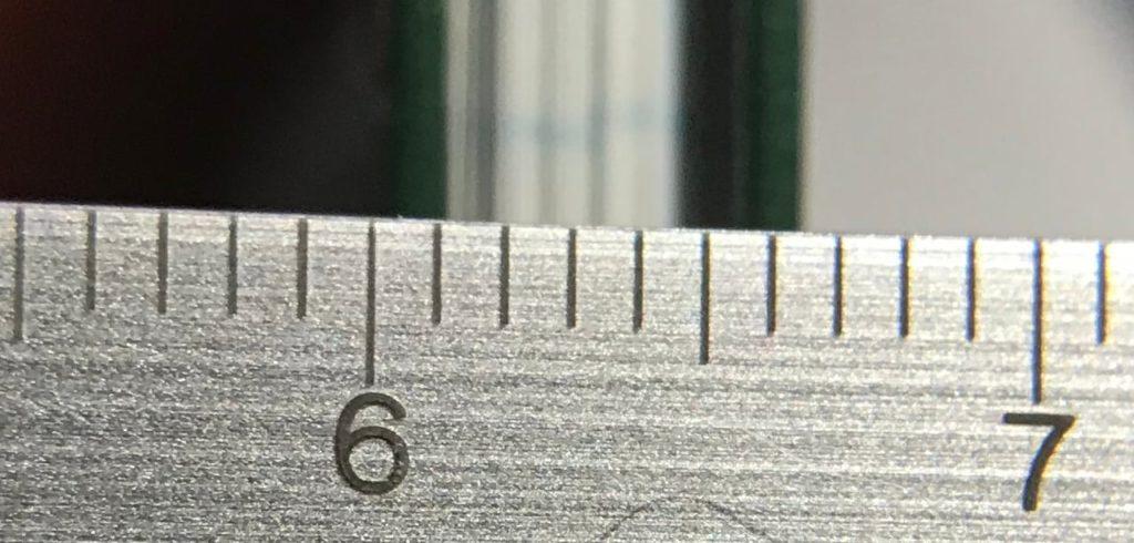 約6mmという厚み測量野帳
