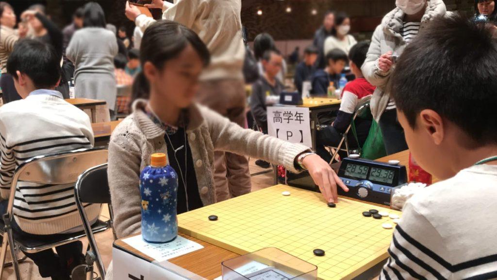 くらしき棋聖戦の様子